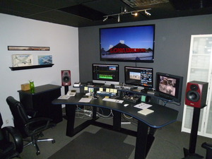 """magic"" production room"